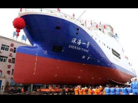 Jiaolong's first submerge after upgrading  CCTV English