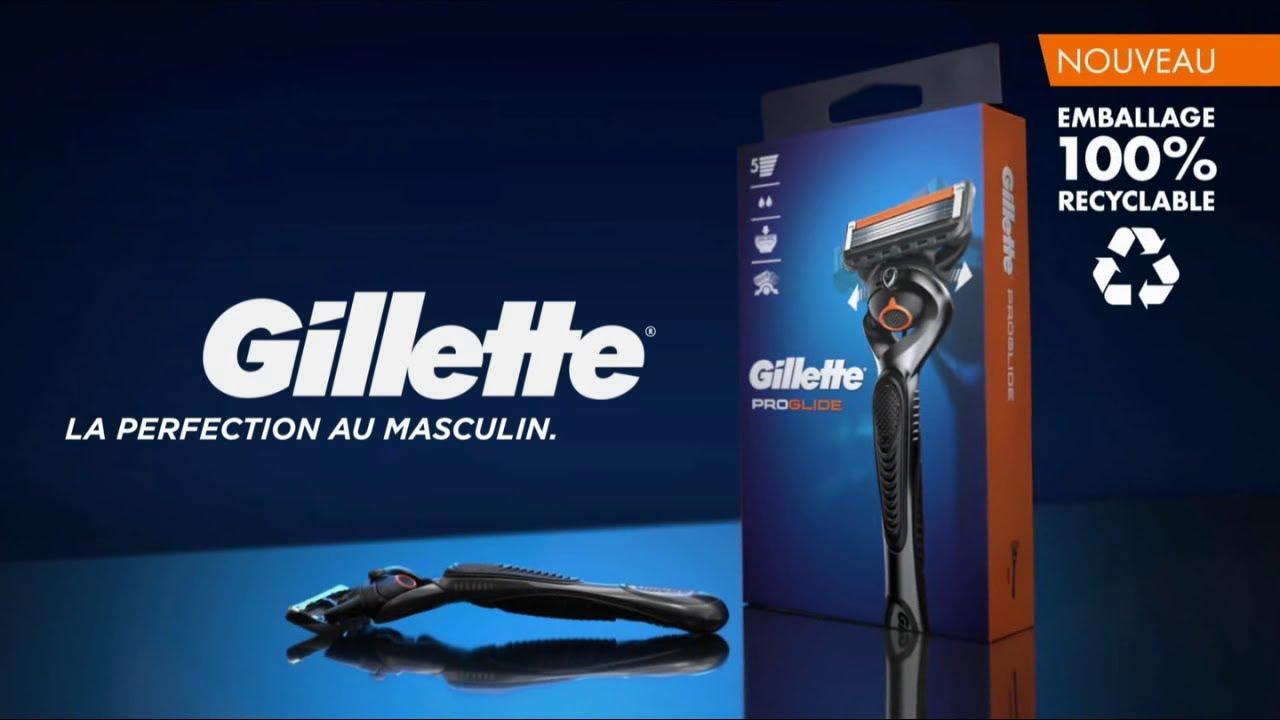 "Musique de la pub Gillette ProGlide – emballage recyclable ""la perfection au masculin""  2021"