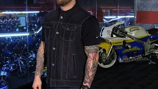 Speed And Strength Soul Shaker Denim Motorcycle Vest Review