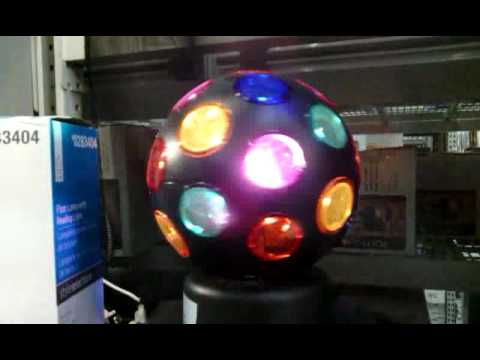 disco light ball at lowes youtube