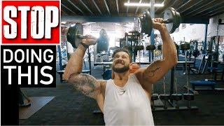 Build BIGGER Shoulders | Fix & Avoid SHOULDER PRESS Mistakes (Lex Fitness MasterClass)