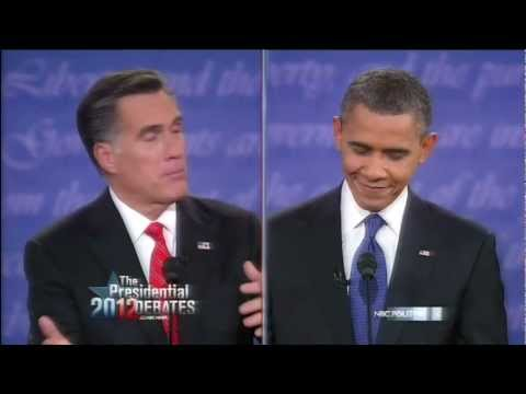 Mitt Romney and Barack Obama Debate Obamacare (The Patient Protection & Affordable Care Act)