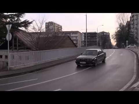 "BMW M5 ""NeedForDrive.com"" LAST ILLEGAL Street Racing and Drift, Driver - Giorgi Tevzadze"