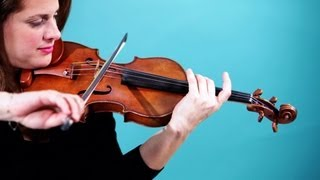 How to Play a G String | Violin Lessons
