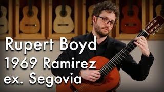 Download Rupert Boyd - Houghton 'Kinkachoo, I Love You' (1969 Ramirez ex. Segovia) MP3 song and Music Video