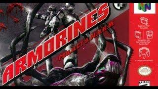 Armorines N64 Gameplay PT BR