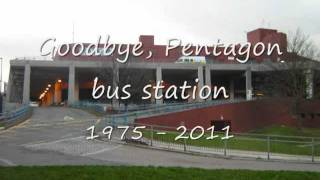 Tribute to Pentagon Bus Station, Chatham, Kent
