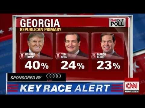 CNN projection Clinton wins Ga , Va ; Sanders wins Vt