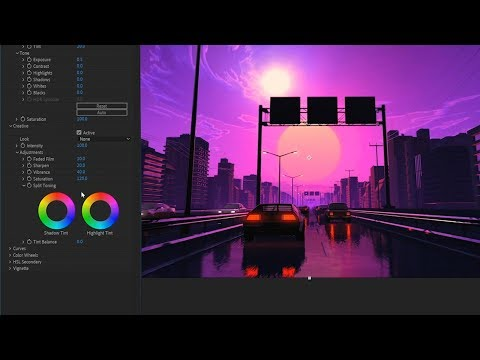 Timelapse Making Of A Looped Retro Gif.