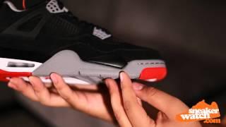 new product 91951 5f8cd Air Jordan 4 Black Red 2012 Retro Review ...