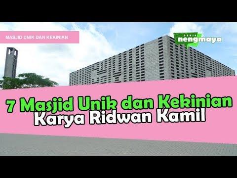 7 Masjid Unik dan Kekinian Karya Ridwan Kamil