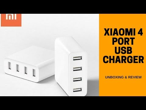 Xiaomi Mi USB Charger 4 Ports - Unboxing & Review!