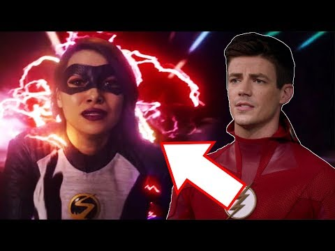 Nora Gets Red Lightning? New Time Travel Mystery? - The Flash 5x21 Promo