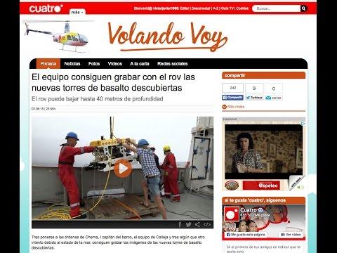 QSTAR ROV UNDERWATER BASALT EXPLORATION FIRST TIME ON TV