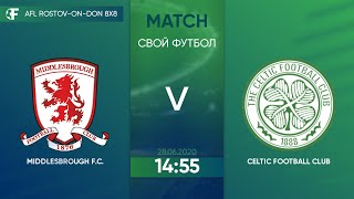 Middlesbrought 1 4 Celtic 4 тур Англия