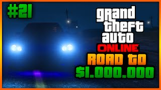 "Road To $1.000.000 #21 ""GANG HIDEOUT!"" (Grand Theft Auto 5 Online)"