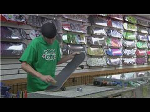 Skateboarding Tips & Tricks : How to Clean Skateboard Grip Tape
