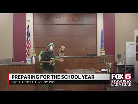 Faith Lutheran High School prepares for school year