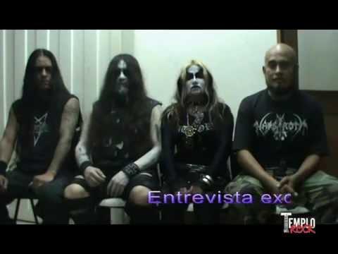 Imperator Infernum - Interview @ Templo del Rock TV Show. Medellin, Colombia.