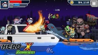 HERO-X: ZOMBIES! 2D ЗОМБИ ШУТЕР GAMEPLAY ПИКСЕЛЬНАЯ ИГРА