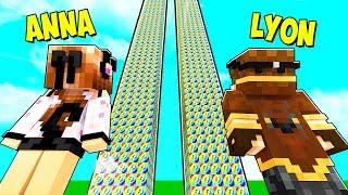LA TORRE DI LUCKYBLOCK PIÙ ALTA DI MINECRAFT!!