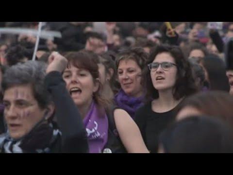 O feminismo volve gritar contra a violencia sexual en toda España