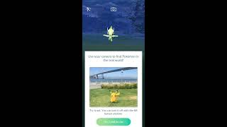 Pokémon GO CELEBI (RARE BUT EASY TO CATCH)