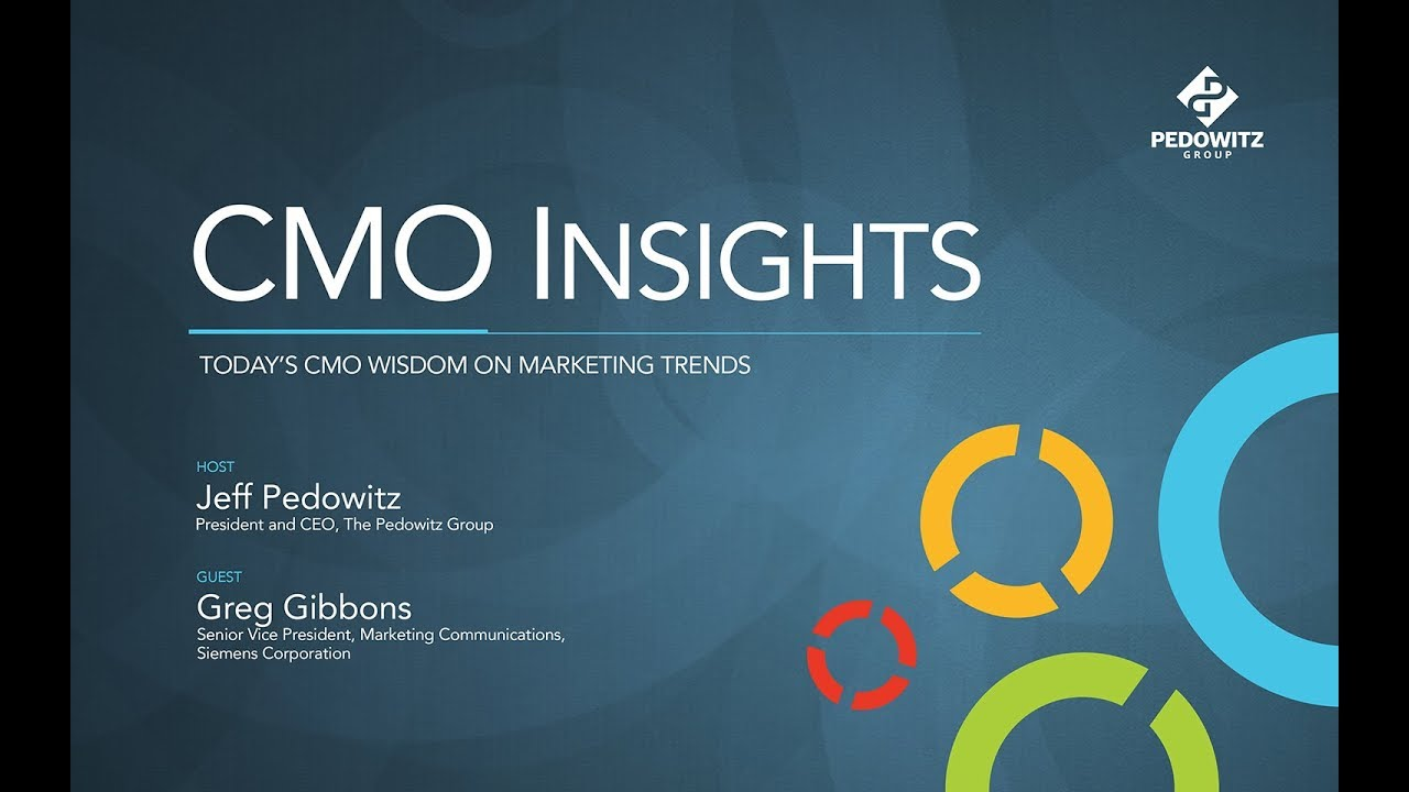 CMO Insights: Greg Gibbons