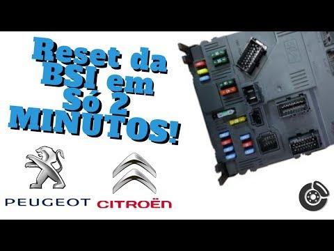 Citroen BSI reset