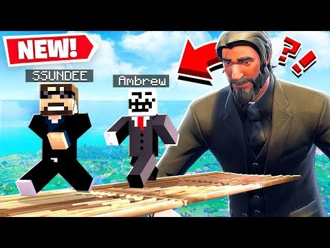 FORTNITE *MURDER RUN* IS BACK! *NEW* GAME MODE in Minecraft!