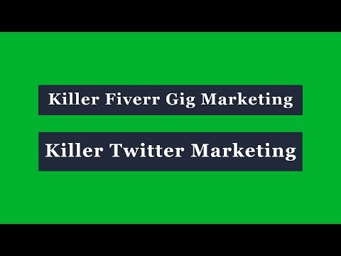 Killer Twitter Marketing Bangla Tutorial - Killer Fiverr Gig Marketing Bangla Tutorial thumbnail