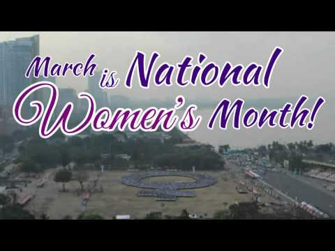 March is National Women's Month_30 seconder