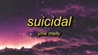 ynw melly - suicidal (lyrics) | i swear to god you stupid b