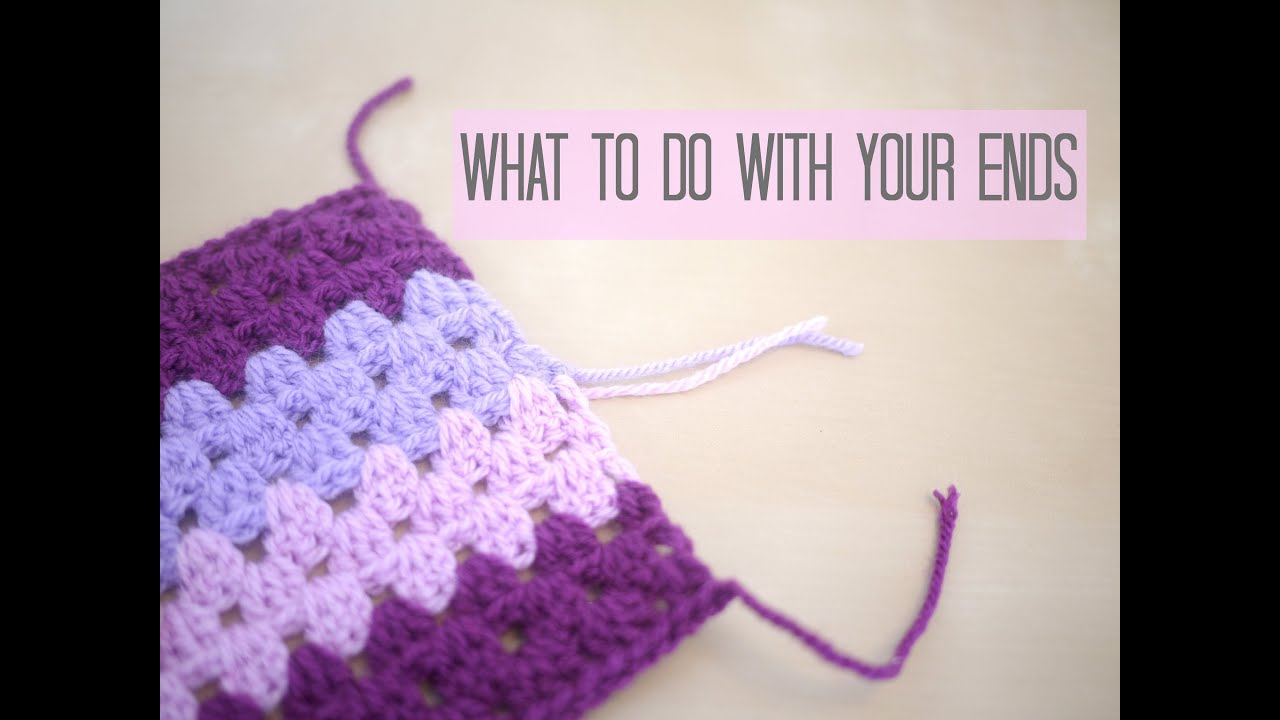 How to tie a crochet