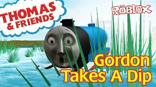 Accidents Will Happen Thomas and Friends | Gordon Takes A Dip | Roblox Remake