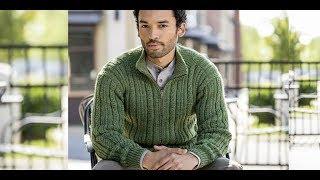 Мужские Кардиганы, Связанные Спицами 2018 / Men's Cardigans Knitted / Herren Cardigans Gestrickt
