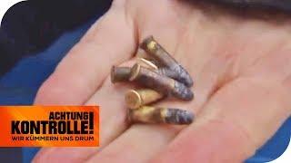 Munition im Neckar gefunden: Wie gefährlich ist das? | Achtung Kontrolle  | kabel eins