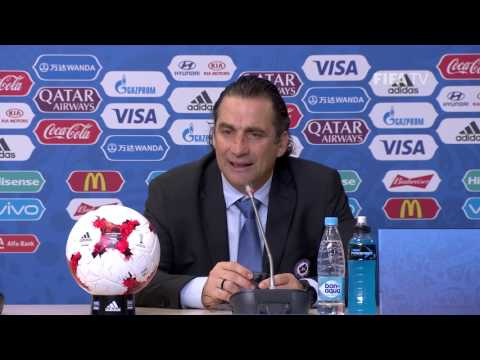 CHI v. GER - Juan Antonio PIZZI - Chile Post-Match Press Conference