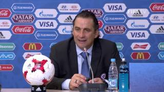 CHI v. GER - Juan Antonio PIZZI - Chile Post-Match Press Conference