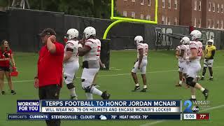 Terps players to honor Jordan McNair