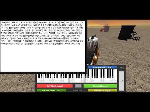 Roblox Piano|Perfect - Ed Sheeran|Not Full|(Notes In The Description)