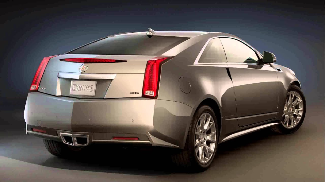 2012 cadillac cts coupe - YouTube
