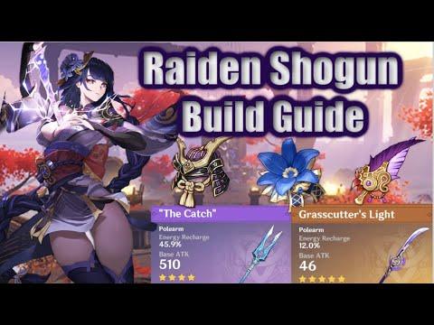 Raiden Shogun Build Guide DPS/Support Emblem of Severed Fate, Artifacts Weapons 2.1 Genshin Impact