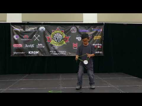Joshua Ramos - Open (4A) - 9th Place - Canada Nationals 2018 - Presented by Yoyo Contest Central