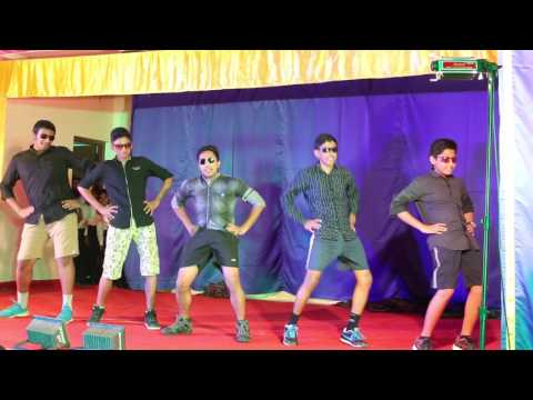 Santhome Church Feast 2017 (Senior Cathechism Students dance)