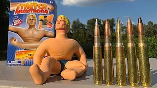 50 BMG vs Stretch Armstrong