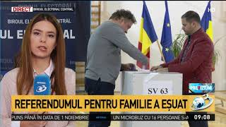 Referendumul pentru familie a eșuat. Ora 10: Declarații la Biroul Electoral Central