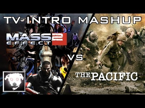 Mass Effect 2 vs The Pacific (TV Intro Mashup)