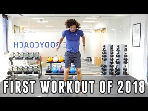 My First Workout Of 2018 | 20 Minutes 20 Moves | The Body Coach