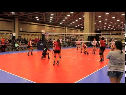 Nia Roberts Volleyball Highlights
